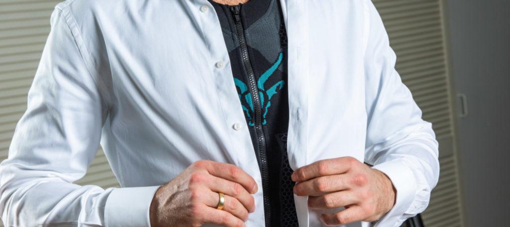 Antelope EMS-Suit auf Geschäftsreise