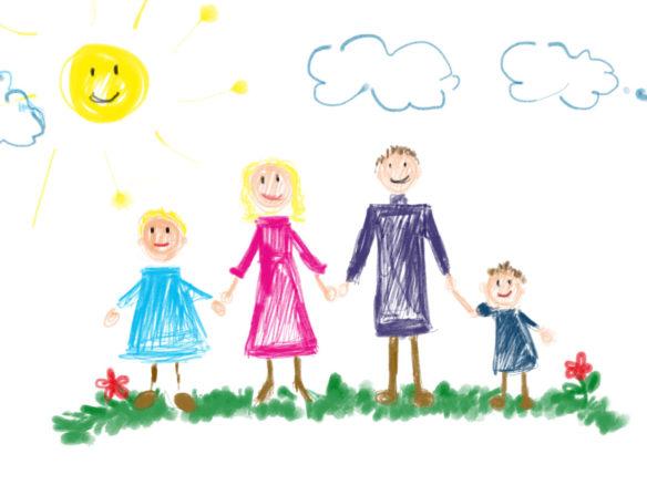 Kinder Zeichnungn