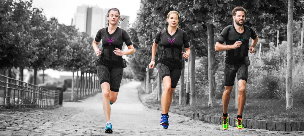 Gruppen Laufen mit EMS